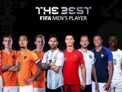 Los nominados a los premios The Best