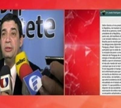 Vicepresidente irá a Diputados a dar explicaciones