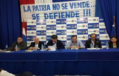 PLRA pide Juicio Político al Presidente y Vicepresidente de la República