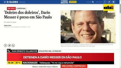 Detienen a Dario Messer en Brasil