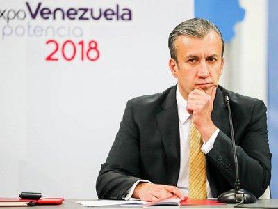 Vicepresidente económico venezolano, declarado fugitivo por EEUU
