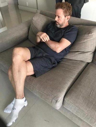 Darío Messer es detenido en San Pablo