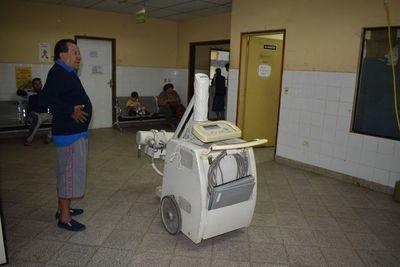Sin tomógrafo y equipo de rayos X en Hospital de Caacupé