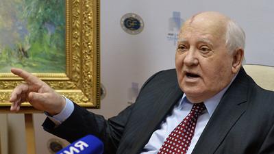 """Mijail Gorbachov auguró """"caos"""" en el mundo y una política global """"impredecible"""""""