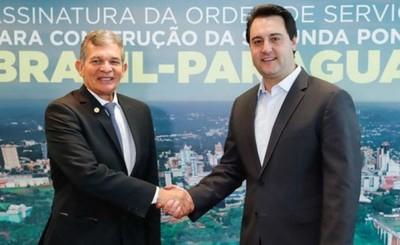 Brasil inicia construcción del puente entre Foz y Pdte. Franco