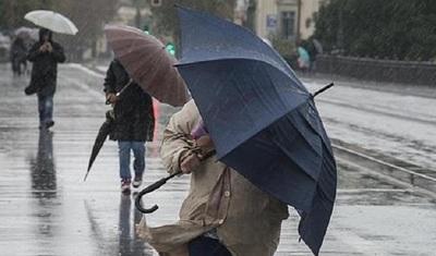 Advierten lluvias e ingreso de frente frío para este jueves