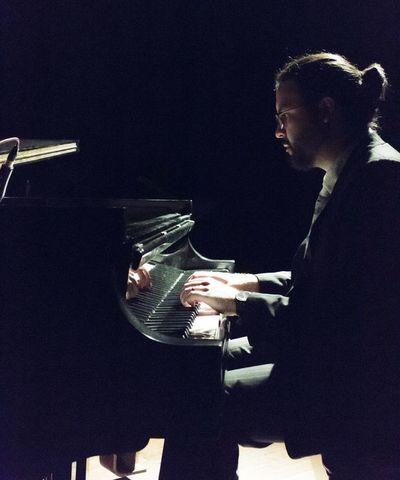 Esteban Godoy y Diego Guzmán en concierto