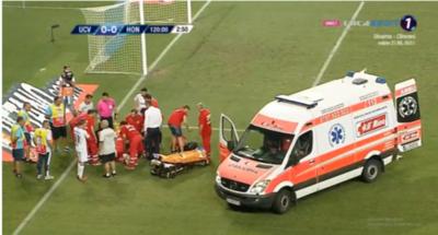 Una cobarde agresión al árbitro dejó al cuarto a cargo en Europa League