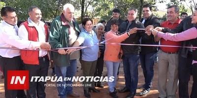 M. OTAÑO: COMUNA INAUGURÓ OBRAS EJECUTADAS CON FONACIDE