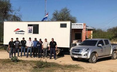 Aduanas habilita administración aduanera en Pozo Hondo, Boquerón