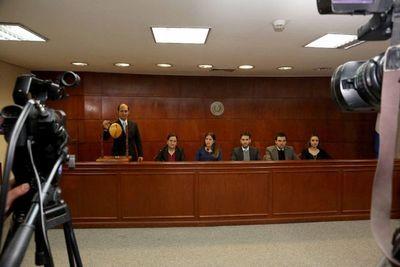Sorteo de la Sala Penal designó a ministros preopinantes