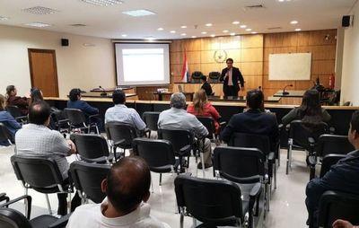 Implementan sistema Judisoft en la Circunscripción Judicial de Guairá