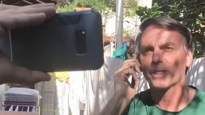 """HOY / Llamadas de Bolsonaro a Abdo  en crisis: """"Es confidencial"""" dijo   cuando le preguntaron sobre que"""