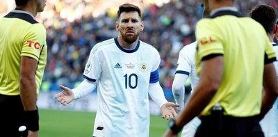 Conmebol sancionó a Messi por sus dichos