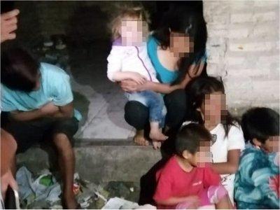 Rescatan a menores indígenas  de las garras de adultos explotadores