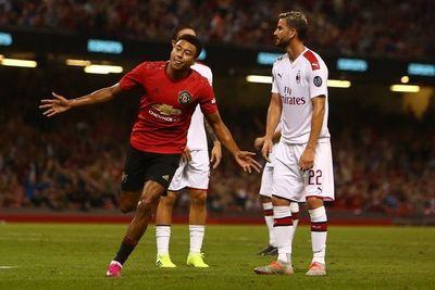El United derrota al Milan en amistoso