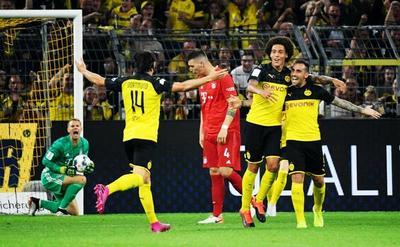 Borussia Dortmund se queda con la Supercopa de Alemania