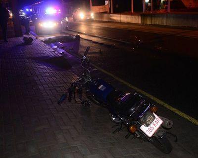 Accidente fatal en inmediaciones del campus de la UNA