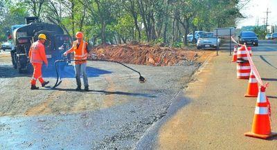 Apuran obras para habilitar desvío en zona del multiviaducto en CDE