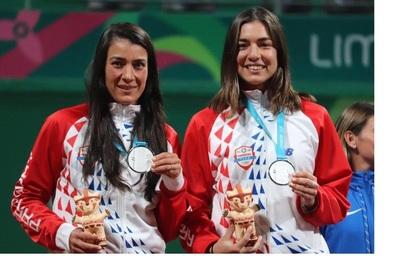 Tenis femenino: Paraguay gana su primera medalla en los Panamericanos