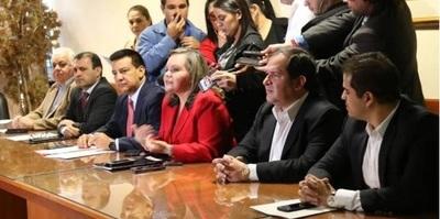 Bancada independiente se une a Colorado Añeteté en Diputados