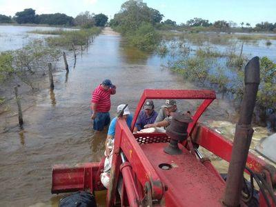 Seactiva plan de asistencia para productores afectados por inundaciones