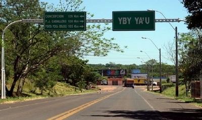 Violencia azota al distrito de Yby Yaú