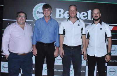 Las motos Benelli llegaron al país de la mano de Inverfin