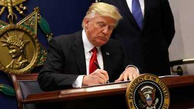 Trump impuso un bloqueo total a las propiedades del régimen venezolano en EE.UU.
