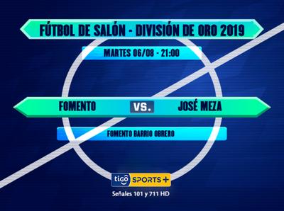 El local enfrenta a José Meza desde las 21:00