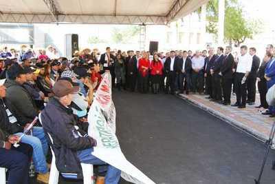 Cañicultores expresan apoyo y piden al Ejecutivo continuidad de inversiones