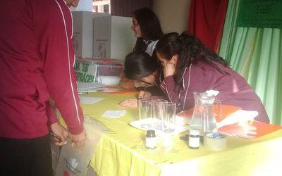 Jóvenes de Villarrica aprenden ciudadanía e importancia de la participación electoral