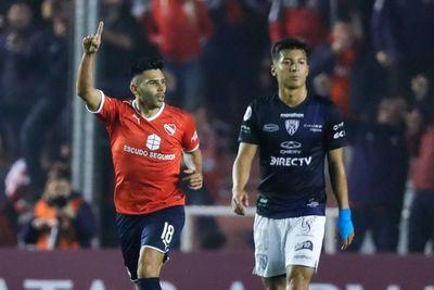 El Independiente argentino saca ventaja