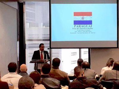 Presentaron a Paraguay como un país de oportunidades