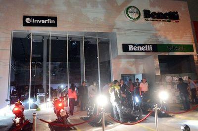 Inverfin representa las motos Benelli