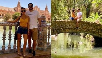 Maga Paez Y Su Marido De Vacaciones Por Europa