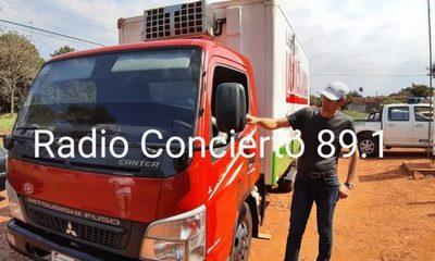 Asaltan camión distribuidor de lácteos