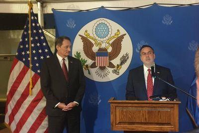 Presentan a nuevo Ministro Consejero de la Embajada de Estados Unidos