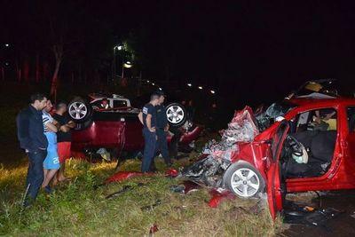 San Ignacio; finalmente cinco personas fallecieron en dos accidentes de tránsito