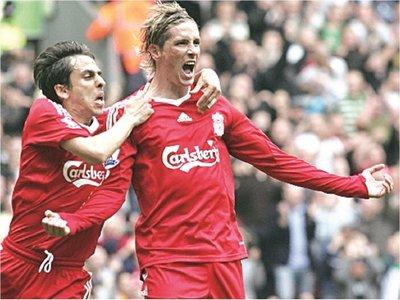 El Niño apuesta por el Liverpool