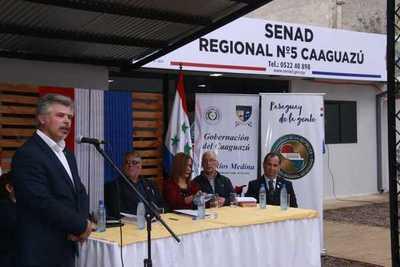 Secretaría Antidrogas habilitó oficina regional en Caaguazú