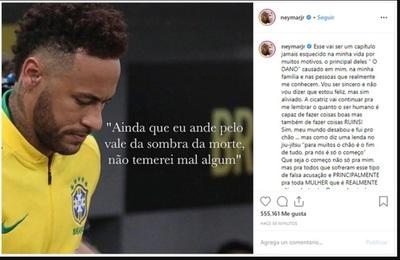 Justicia archiva denuncia de violación contra Neymar y él se descargó en Instagram