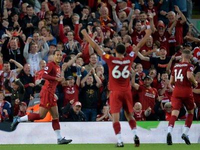 El Liverpool comienza la Premier a ritmo de 'Rock and Roll'