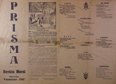Subastan en Argentina obras de Borges con intervenciones a mano