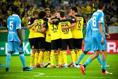 Dortmund, a otra fase de la Copa alemana