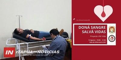 """INVITAN A PARTICIPAR DE LA CAMPAÑA """"DONA SANGRE- SALVA VIDAS"""""""