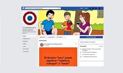 Página de Facebook sobre la Lengua Guaraní es tendencia en redes