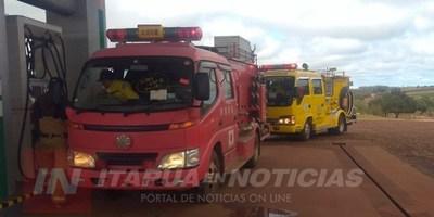 BOMBEROS K-110 DE SAN RAFAEL DEL PARANÁ RECIBEN PRIMERA AUTOBOMBA.