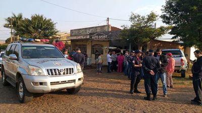 Asesinan de doce balazos a un hombre en Pedro Juan Caballero