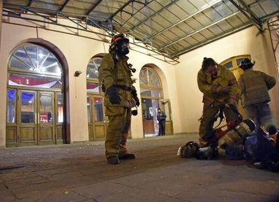 Gas tóxico causó susto  en el Teatro Municipal
